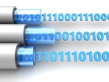 Binäre Daten lizenzfreie abbildung