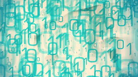 Binäre Datenflussmetapher lizenzfreie abbildung