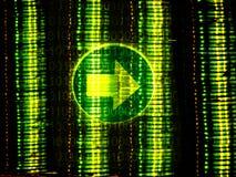 Binäre Richtung Lizenzfreie Stockfotografie