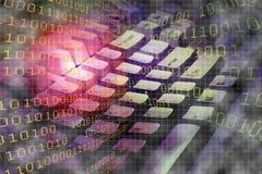 Binäre Tastatur Lizenzfreies Stockbild