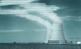 Binäre Verunreinigung Lizenzfreie Stockbilder
