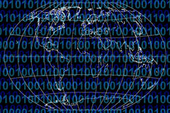 Binäre Welt Stockfotos