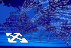 Binäre Welt Lizenzfreies Stockbild