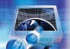 Binäre Welt Lizenzfreie Stockfotografie