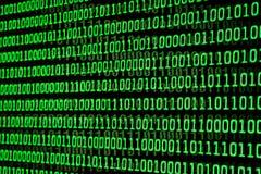 Binärer Code lizenzfreie stockfotos