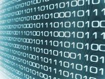 Binärer Code Stockbild