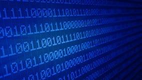 binärer Code 3d Lizenzfreie Stockfotografie