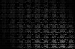 Binärer Hintergrund stockbilder