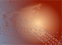 Binärer Hintergrund Lizenzfreie Stockfotografie