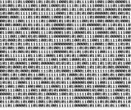 Binärer Hintergrund Stockbild