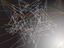 Binärer Hintergrund Lizenzfreie Stockbilder