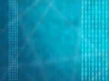 Binärer Spritzen-Bildschirm lizenzfreie abbildung