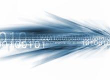 Binärer Strom Lizenzfreie Stockfotos