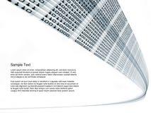 Binärer Strom Lizenzfreie Stockbilder