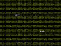 Binäres Hintergrund segurity stockbilder
