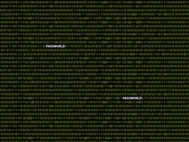 Binäres Hintergrundpasswort lizenzfreie stockbilder
