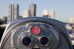 Binóculos 3 do turista Imagem de Stock