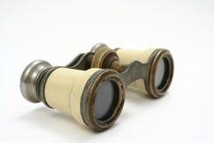 Binóculos antigos Fotografia de Stock Royalty Free
