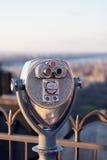 Binóculos da plataforma de observação foto de stock royalty free
