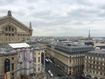 Binóculos de Paris View imagens de stock
