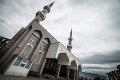 Bin Abdulaziz Al Saud de Abdullah da mesquita Fotografia de Stock
