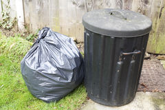 Bin and bag stock images