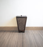 Bin from bamboo Royalty Free Stock Images