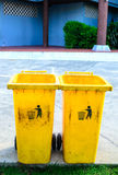 Bin. Box clean disposal dump Stock Photography