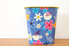 Bin flower background Stock Image