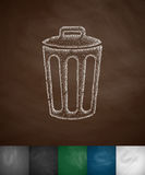 Bin icon Royalty Free Stock Photo