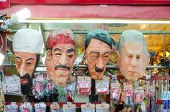 Bin Laden, Saddam, Hitler, Josh W. Bush Royalty Free Stock Photo