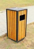 Bin wood. In the garden Stock Photography