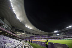 Bin Zayed Stadium di Hazza Immagine Stock