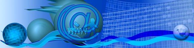 Binair getal, beetjes en Elektronische handel stock fotografie
