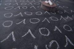 Binair getalsysteem stock fotografie