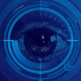 Binair oog Royalty-vrije Stock Fotografie