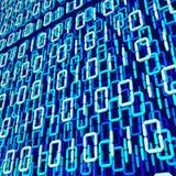 Binaire 3d code Stock Afbeeldingen