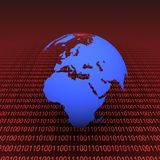 Binaire aarde Royalty-vrije Stock Fotografie