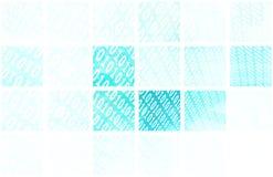 Binaire Blokken stock illustratie