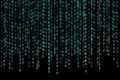 Binaire code Stock Foto