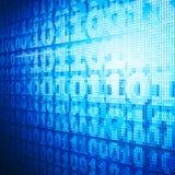 Binaire code Stock Afbeelding