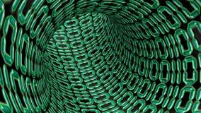 Binaire code 3d Stock Afbeelding