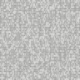 Binaire code vectorachtergrond met nummer één en nul Naadloze patern Codage of hakkerconcept, digitale technologie vector illustratie