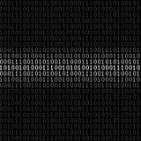 Binaire digitale achtergrond royalty-vrije illustratie