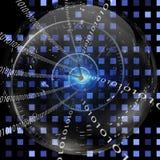 Binaire Klok Royalty-vrije Stock Afbeeldingen