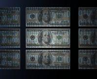 Binaire Rekeningen II. Stock Foto's