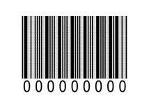 Binaire streepjescode Royalty-vrije Stock Foto's
