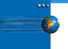 Binaire Wereld 02 stock illustratie