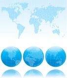 Binaire wereld Stock Fotografie