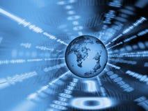 Binaire wereld Stock Afbeeldingen